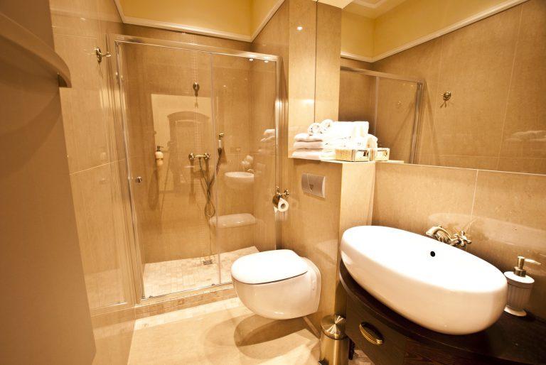 łazienka apartament złoty uniejów