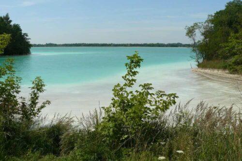 jezioro turkusowe gajówka