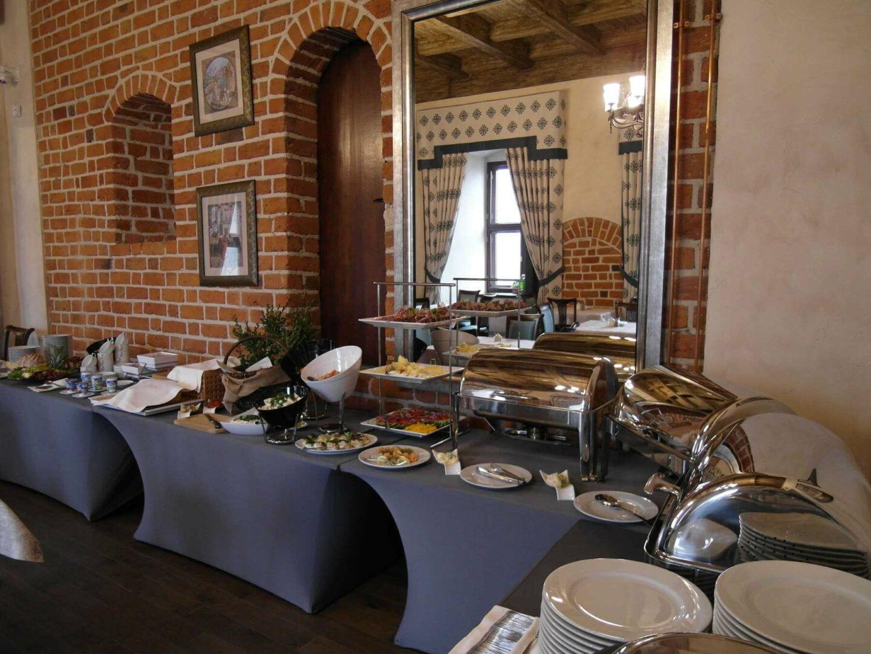 catering konferencyjny zamek uniejów