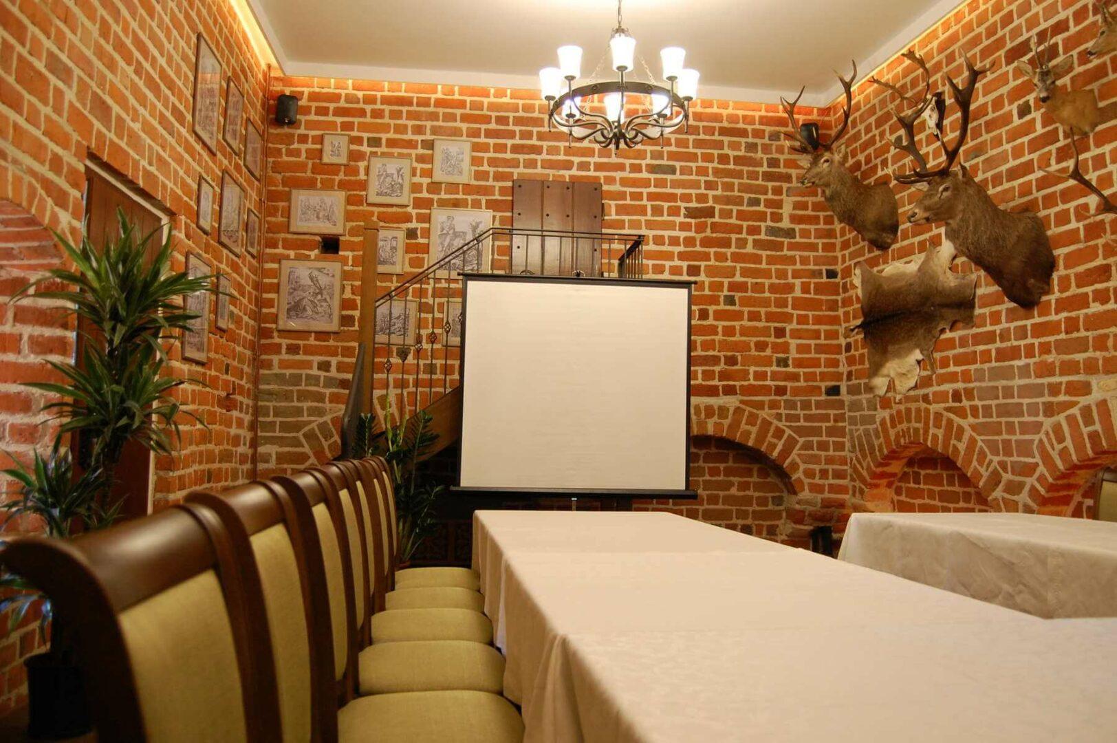 sala myśliwska konferencja w uniejowie